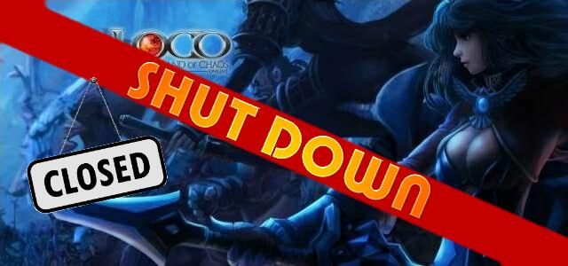 Land of Chaos Online (LOCO) - logo640 shut down