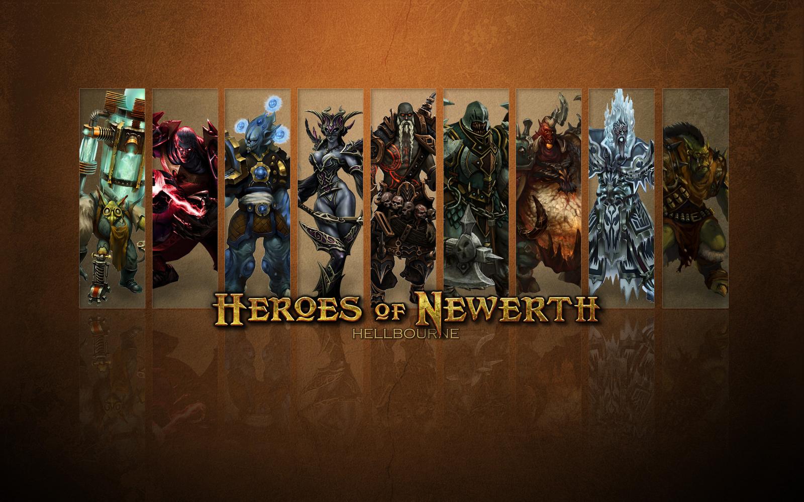 Heroes of Newerth wallpaper 3