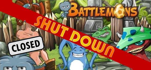 Battlemons - logo 640 shut down