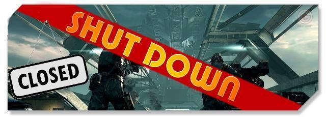 Dust 514 - F2P Network - Shutdown logo