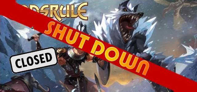 Godsrule - logo 640 shut down