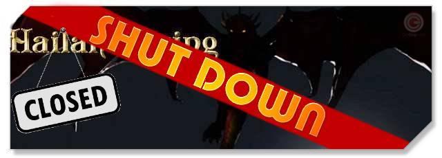 Hailan Rising - Shutdown logo - F2P Network
