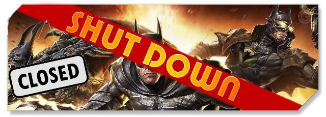 Infinite Crisis - F2P Network Shutdown headlogo
