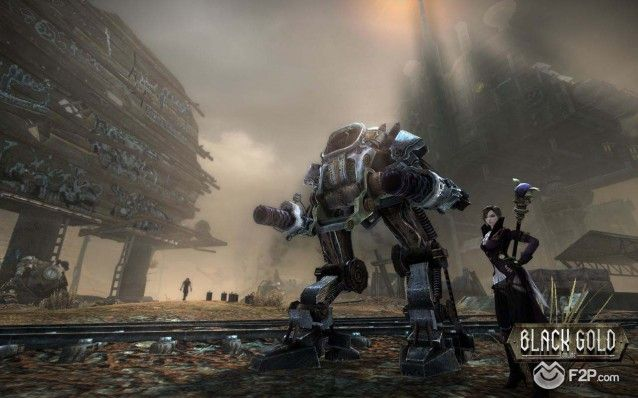 Black Gold Online steampunk MMORPG screenshot 26092013 (1)