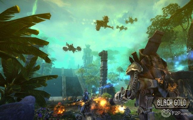 Black Gold Online steampunk MMORPG screenshot 26092013 (8)