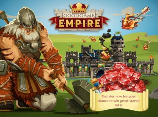 Goodgame Empire: Esclusiva riffa con 20 starter pack in palio