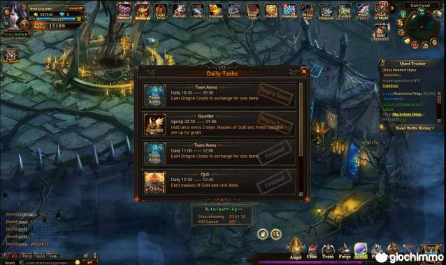 League of Angels review screenshots giochi4