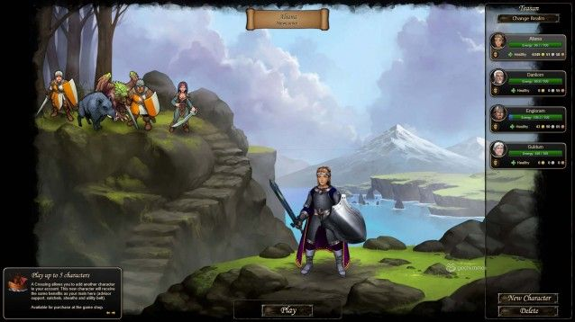 Therian Saga screenshot 1