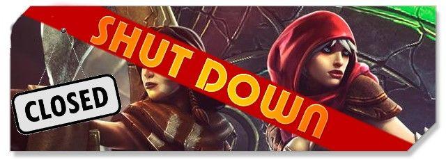 Dawngate - logo shut down - F2P Network
