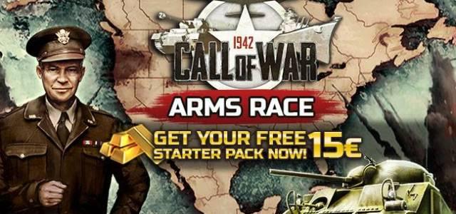 Pacchetto iniziale gratuito Call of War - Due promozioni gratuite per Call of War