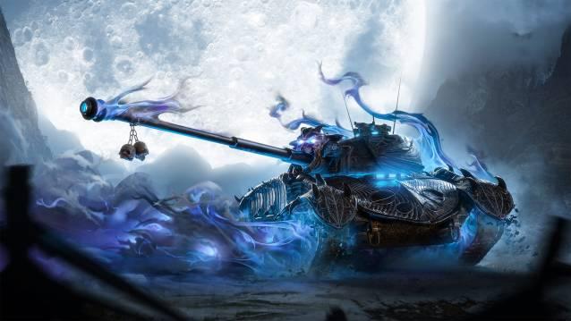 WoT Mercenaries Artwork Halloween. World of Tanks Free to Play Action MMO