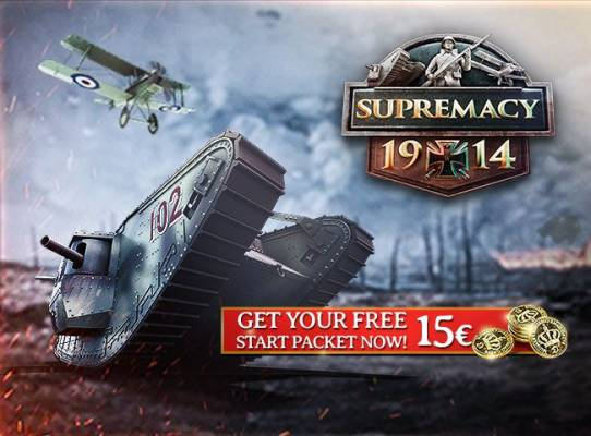 Starter Pack Supremacy 1914 The Great War - Supremacy 1914 The Great War Starter Pack Promozione