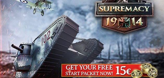 Supremacy 1914 The Great War Starter Pack Promozione