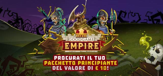 Oggetti gratuiti per Goodgame Empire