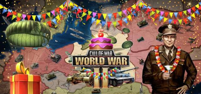 5 ° anniversario di Call of War