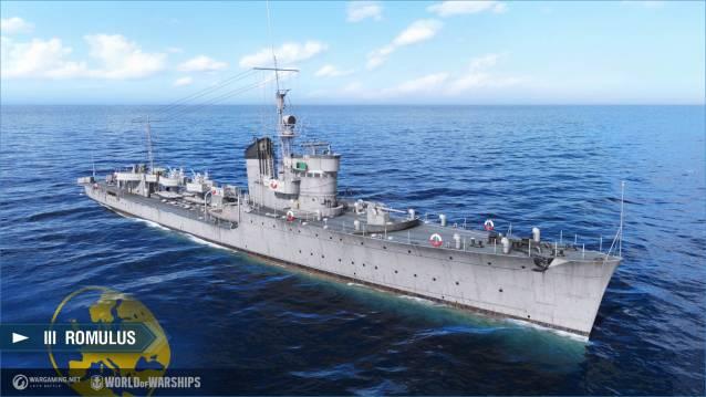 World of WarShips screenshots III Romulus