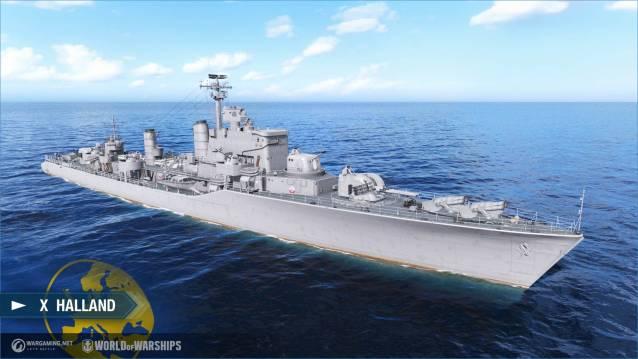 World of WarShips screenshots X Halland