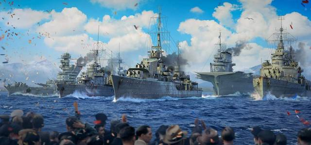 World of Warships parata navale virtuale