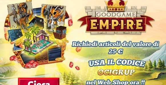 Goodgame Empire Giveaway GiochiMMO