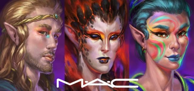 Elvenar Halloween con M-A-C Cosmetics
