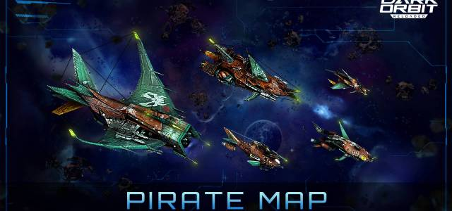 DarkOrbit Espansione mappa pirata