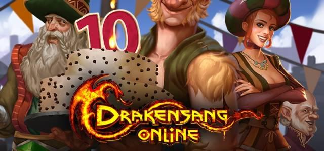 Drakensang Online Festa di anniversario di Dracania